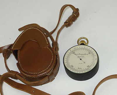Vintage Keuffel & Esser Improved Surveying Aneroid Compensated With Case