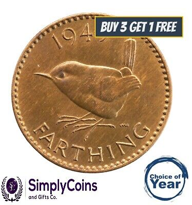1937 To 1952 George Vi  Farthings Choice Of Year / Date