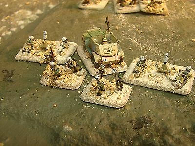 Flames of War  Painted 8th Army (Indian) Company HQ (Complete)
