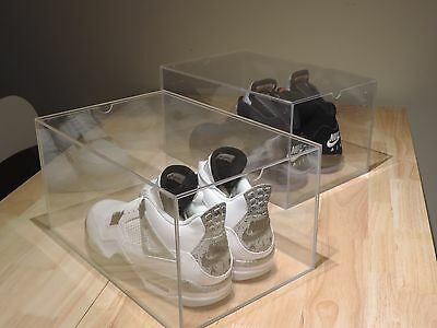 Premium Acrylic Display Shoe Case, Shoe Box