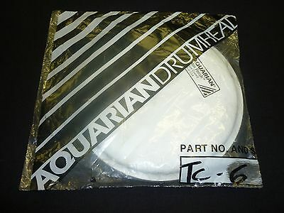 Aquarian 6'' Texture Coated Satin Finish Drumhead (NEW)