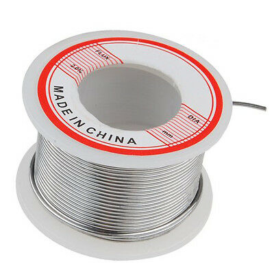 1 Spool Solder Tin Lead Wire Rosin Core 1mm Dia 35 Feet Long Cable FK