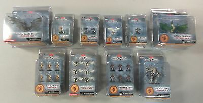 D&D Attack Wing Lot Dragons Plus Many Expansions All New Sealed - Wizkids