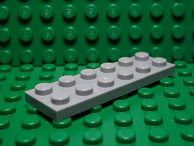 New LEGO Lot of 2 Light Bluish Gray 1x12 Plate Pieces