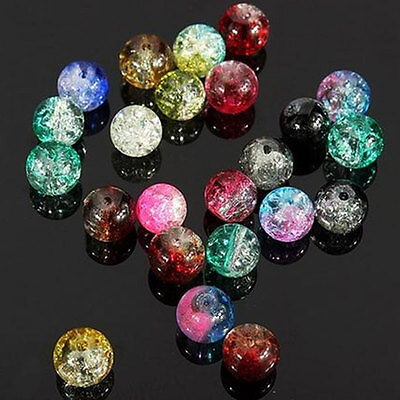 200pcs Burst Designed Natural Stone Gemstone Jewellery Making Spacer Beads Tool