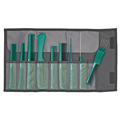 Jaguar A Line Hair Cutting Set 9 Combs Case For Salon Use Pink/purple/blue/green