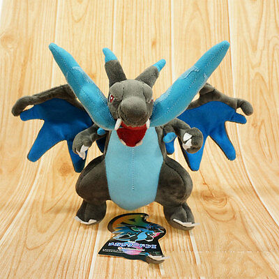 1Pcs Pokemon Charizard Mega Soft Stuffed Plush Doll Gifts Decor For Kid