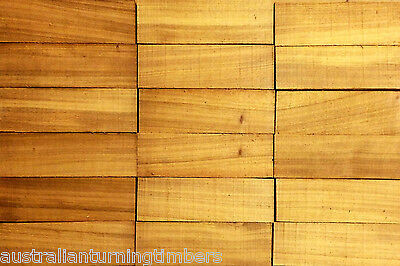 Bulk Buy - Rare Australian Yellow Cedar Wood Knife Scales (not bookmatched)