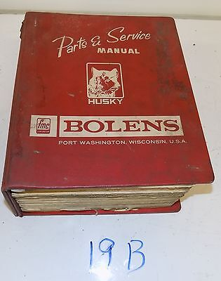 Bolens Parts and Service Manuals for Tractors and Attachments S19B