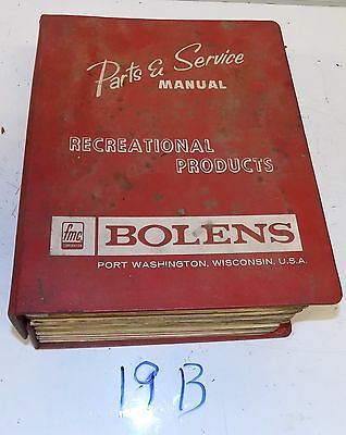 Bolens Parts and Service Manuals for Recreational Products S19B