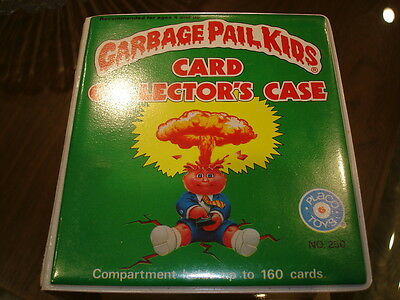 Garbage Pail Kids Card Collector's CASE 1986 Placo Toys New Fine Condition GPK
