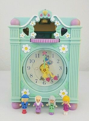 vintage polly pocket Funtime Clock 1991 100% Complete