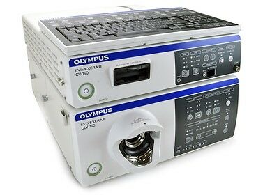 Cv-190 And Clv-190 New-In-Box Olympus Processor & Light Source 1 Yr Wrty.