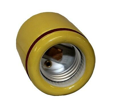 PORCELAIN SOCKET 2-Piece Replacement Socket for Brooder Heat Lamp Single Count