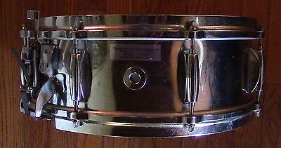 1 of a kind GRETSCH A LING 5x14 4160 COB SNARE with RADIO KING CUSTOM VINTAGE