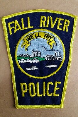 Fall River, Massachusetts Police Shoulder Patch Ma 2