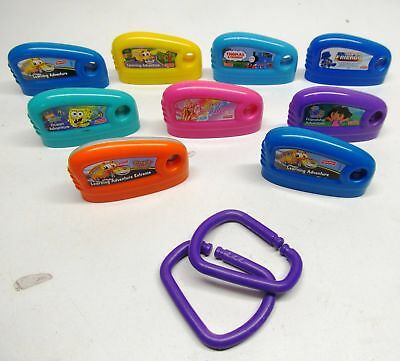 Lot of 9 Fisher Price Smart Cycle Game Cartridges Barbie Thomas and Friends +