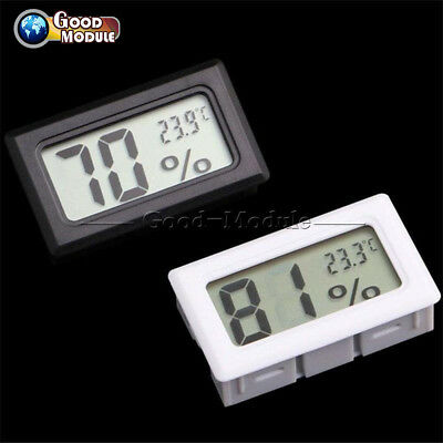 Digital LCD Thermometer Hygrometer Humidity Temperature Meter Indoor