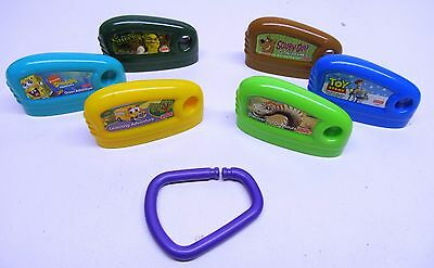 Lot of 6 Fisher Price Smart Cycle Game Cartridges Discover Dinosaurs Toy Story +