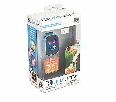 Kurio Watch The Ultimate Smartwatch Built For Kids Blue (New In Box)