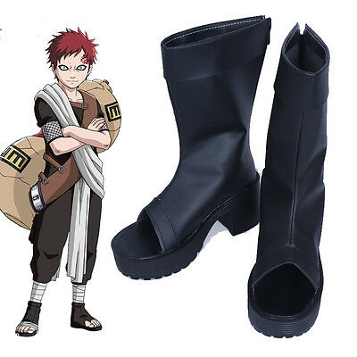 Cartoon Character Naruto Gaara first generation Cosplay Costume Cos Shoes Boots