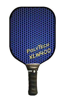 Pickleball Paddle - Widebody XLW400 Blue with Gold Letters, large sweetspot!