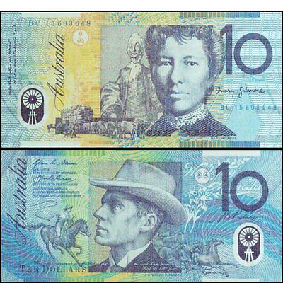 Australia Mint 2016 First $10 BC15 Stevens & Fraser Polymer banknote Issue R323a