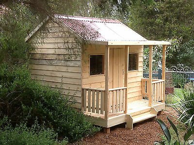 The Huckleberry Brand New Cottage style Timber Cubby House by Design A Shed