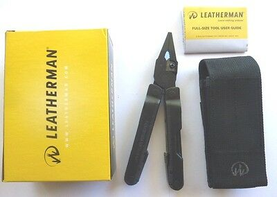 Leatherman Rebar Black Multi Tool Knife Multitool + Molle Sheath Free Post