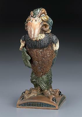 Burslem Pottery Andrew Hull BAILIFF Grotesque Bird INSPIRED by Martin Brother