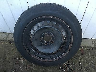 Mercedes E Class Spare wheel with Nearly New Tyre