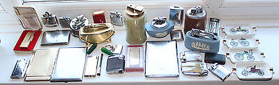 Large Collection of lighters / smokers items etc