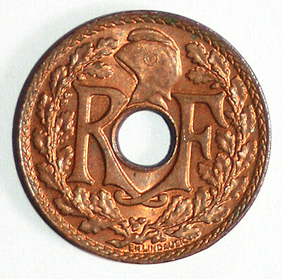 French Indo-China Y-20 (1939) 1/2 Cent UNC RD