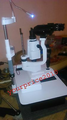 KFW Slit Lamp zeiss Type With Table and Accessories Ophthalmology Lab Optometry