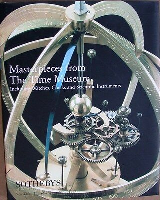 Masterpieces from the Time Museum Watches, Clocks, Scientific Instruments Uhren
