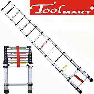 12.5ft 3.8m Folding Climb Type Aluminum Telescopic Step Ladder Purpose Extension
