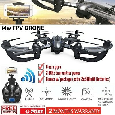 NEW I4W FPV RC Quadcopter Drone 2.4Ghz 4CH 6-Axis with Real-Time HD Camera RTF