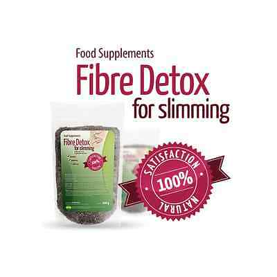 Fibre Detox for Slimming - Fast Weight Loss - Colon Cleanse - 100% Natural