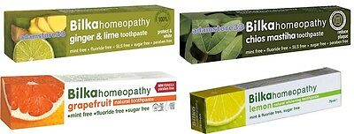 Natural Herbals Toothpastes Bilka Homeopathy Mint & Fluoride Free 75 ml