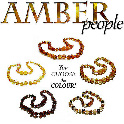 BALTIC AMBER Baby Child NECKLACES & BRACELETS Genuine & Authentic