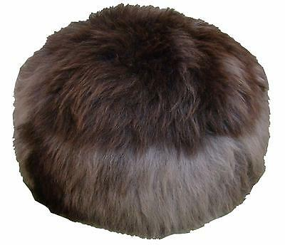 100% Genuine Sheepskin Pouffe Produced in Devon