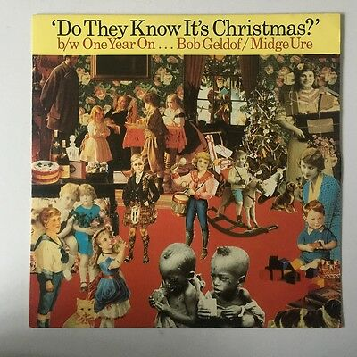 """Band Aid - Do They Know It's Christmas? - 1984  Phonogram  FEED 112 - 12"""" Single"""