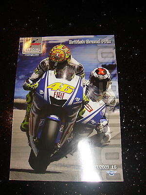 Official Moto Gp Programme - British 2009 - Signed - Stoner - Not Rossi