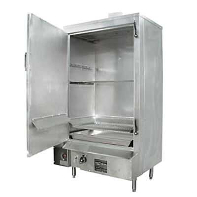 "30"" S/s MasterRange Smokehouse Natural Gas Left Hinged Door"