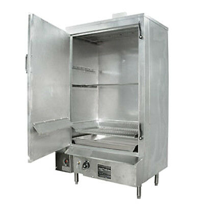 "36"" S/s MasterRange Smokehouse Natural Gas Left Hinged Door"