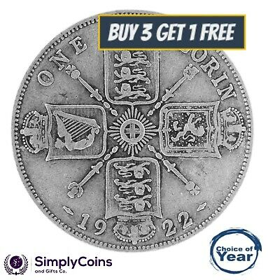 1920 to 1936 George V Silver Florin Your Choice of Date