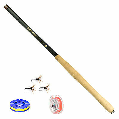 Tenkara USA Amago 13ft. 6in. Fly Rod and Level Line Fishing Outfit