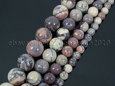 Natural Porcelain Jasper Gemstone Round Spacer Beads 15.5'' 6mm 8mm 10mm 12mm