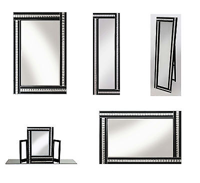 mirror with gold frame 80cm by 120cm picclick uk. Black Bedroom Furniture Sets. Home Design Ideas