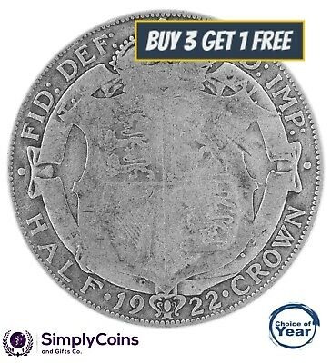 1911 To 1936 George V Silver Half Crowns Halfcrown - Choice Of Year / Date